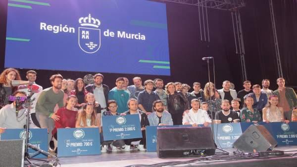 López Miras ensalza 'el talento, creatividad y originalidad' de los finalistas del certamen 'Región de Murcia Joven 2.0'