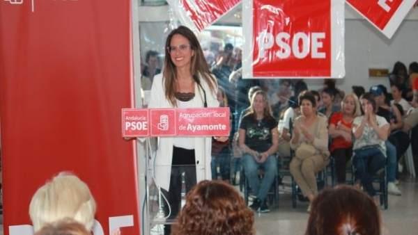 Huelva.-26M.-PSOE 'refuerza' en su programa de Ayamonte las políticas sociales y 'mejorar el bienestar de las personas'