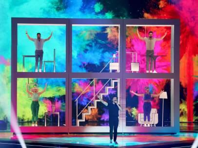 Miki en Eurovisión
