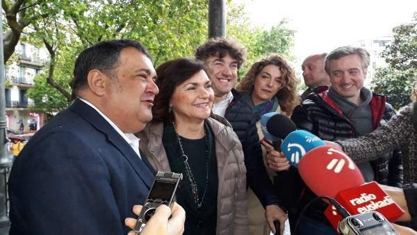 Calvo dice que ERC 'ha perdido una extraordinaria oportunidad de estar donde hay que estar, respetando la democracia'