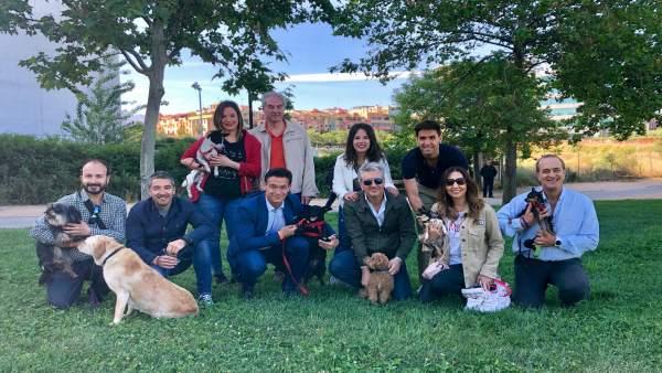 Granada.- 26M.- Cs apuesta por 'mejorar el bienestar animal' y 'hacer de Granada una ciudad con sacrificio cero'