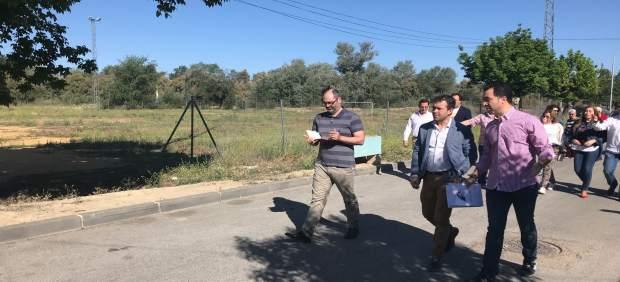 Jaén.-26M.- Millán afirma que Puente Tablas es 'ejemplo de libro' de la 'urgente recuperación de los servicios públicos'