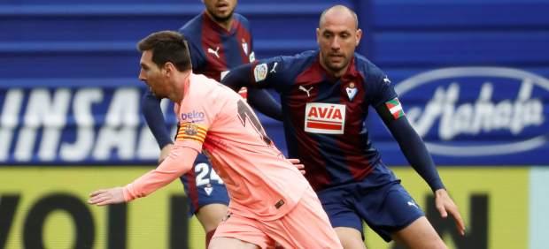 El Barcelona cierra la Liga 2018-19 con un empate ante el Eibar