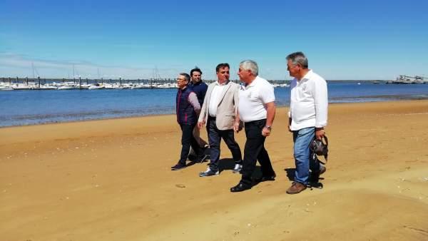 Huelva.-26M.- Cs quiere potenciar el Real Club Marítimo como 'atractivo turístico y enclave' para los deportes náuticos