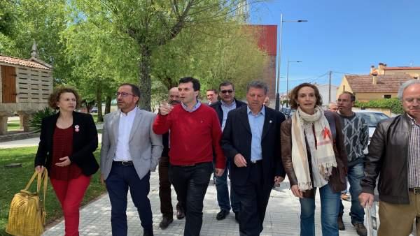 Gonzalo Caballero dice que el voto útil es para que alcaldes socialistas 'defiendan la sanidad frente a los recortes'