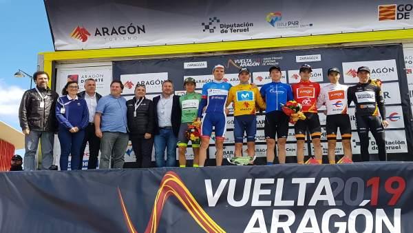 Soro dice que la Vuelta Aragón 2019 ayuda a impulsar el territorio como destino de turismo deportivo