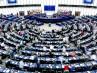 Vista general del hemiciclo del Parlamento Europeo en Estrasburgo (Francia)