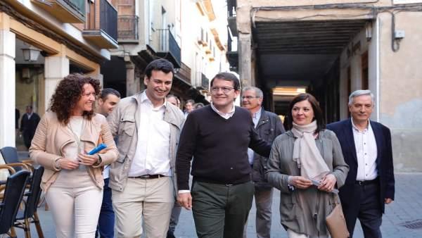 26M.- Mañueco Augura Que El PP Va A 'Superar Las Encuestas' En La Recta Final De Campaña Y Va 'A Por La Remontada'