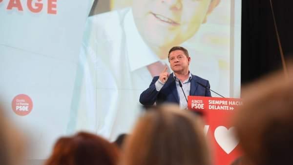 26M.- Page Avisa Que, Siendo Clave El Resultado De Municipales Y Europeas, Quiere Ganar Con Solvencia: 'Yo Me La Juego'