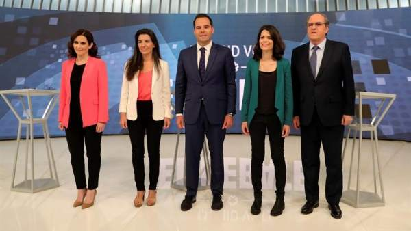 Debate candidatos Comunidad de Madrid