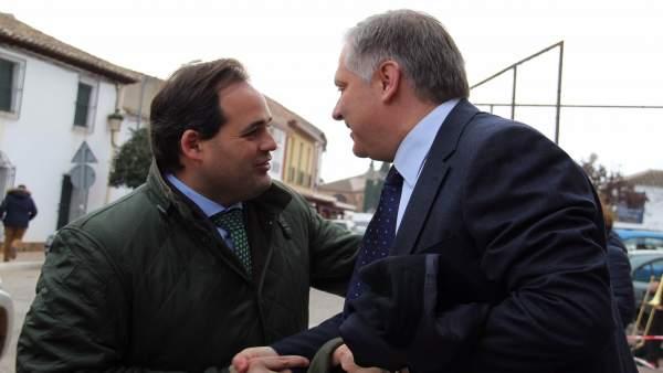 Paco Núñez y Paco Cañizares, PP