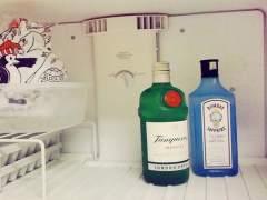 Alcohol en el congelador
