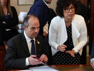 Turull firma como diputado