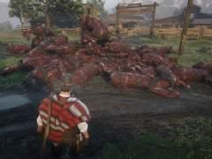 Caballos calcinados en 'Red Dead Online'