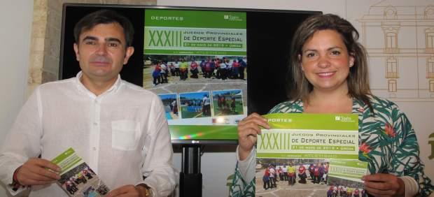 Jaén.- MásJaén.- Más de 600 personas se darán cita en Úbeda en la 1º jornada de los Juegos de Deporte Especial