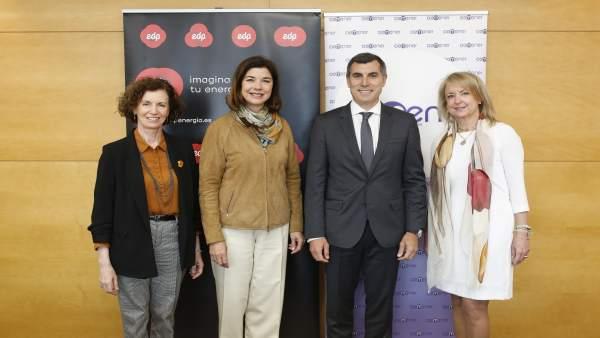 Aemener firma un acuerdo con EDP para potenciar sus actividades