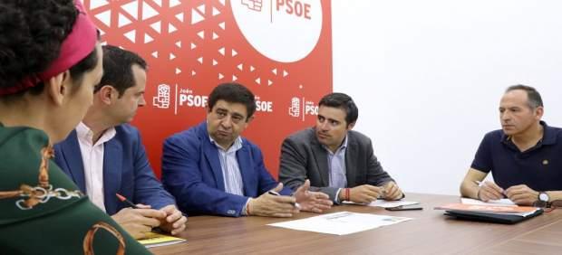 Jaén.- Reyes expresa el respaldo del PSOE a la concentración del sector oleícola del 29 de  mayo