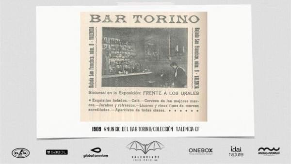 Turismo.- Renace el mítico Bar Torino donde vio la luz el Valencia CF para caldear la final de la Copa