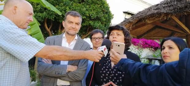 Cádiz.-26M.- Maíllo pide el voto a IU en Sanlúcar por tener 'capacidad de gobierno frente al agotamiento del PSOE'