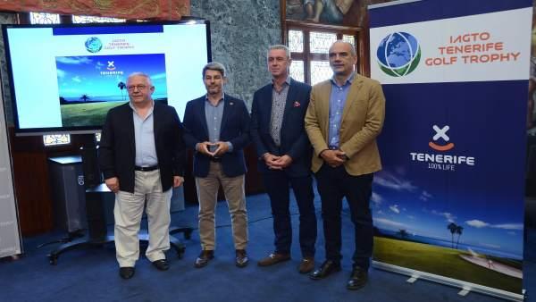 Tenerife reúne a 250 representantes del sector del golf en 'IAGTO Golf Trophy'