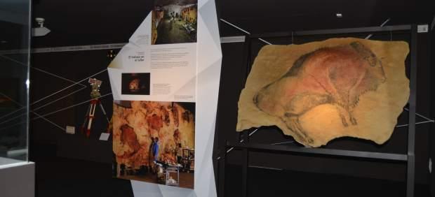 Altamira reabre la exposición sobre la forma de reproducir el arte rupestre