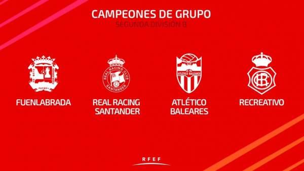 Campeones de Segunda B