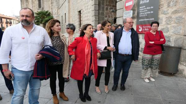 26M.- Margarita Robles Llama A Votar Al PSOE Porque Sus Candidatos Tienen 'Compromisos'