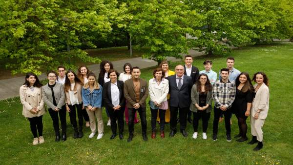 Una treintena de estudiantes participan en la UPNA en un seminario de innovación y experiencias empresariales