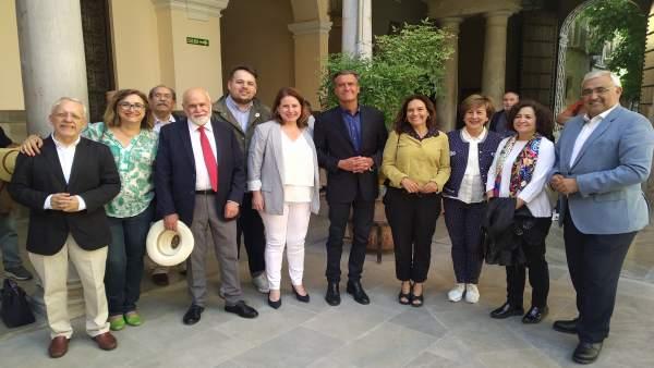 Granada.- 26M.- El PSOE anima a la ciudadanía europeísta a 'votar' con 'más fuerza que quienes quieren romper Europa'