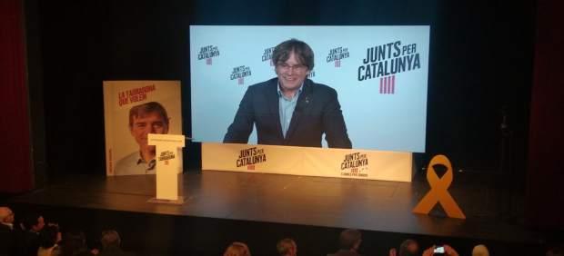 AV.- 26M.- Puigdemont dice que la actitud del 1-O es el 'antídoto ante las amenazas' que tiene Europa