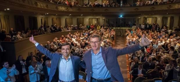 26M.- Feijóo Presenta Al PP Como 'Garantía De Cambio' En Ferrol Y Pide 'Una Mayoría Amplia' Frente Al 'Resto'
