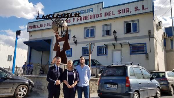 Granada.- 26M.- Bravo: 'Con un gobierno del PP, la actividad económica de Las Gabias estará de enhorabuena'