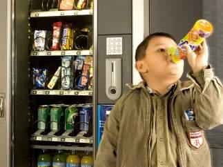 Obesidad, vending