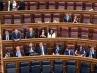 La bancada de Vox se sienta en la zona del PSOE en el Congreso