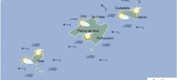 Predicción meteorológica para este martes 21 de mayo en Baleares: probabilidad de alguna precipitación débil