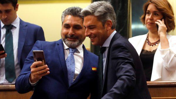 Selfi de Juan José Cortés en el Congreso