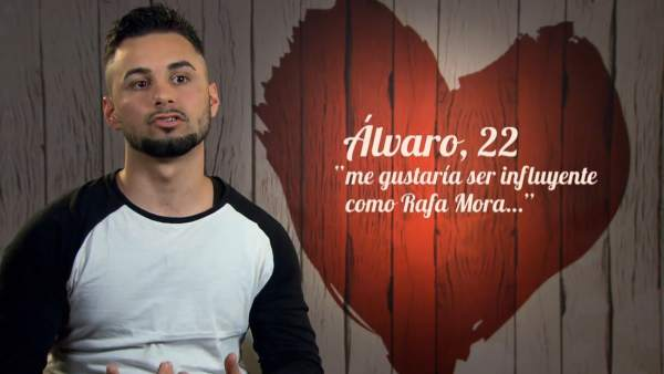 Álvaro, en 'First dates'.