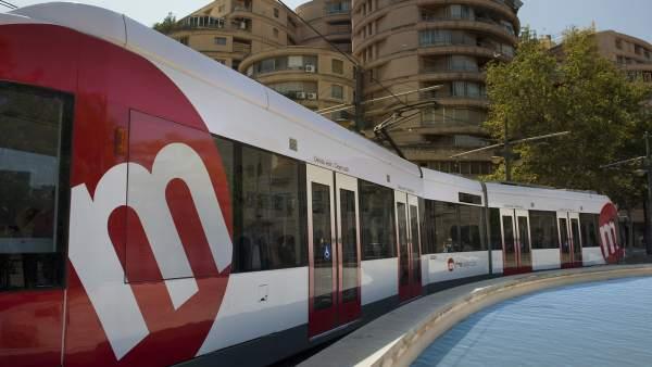 El tramvia de València compleix 25 anys
