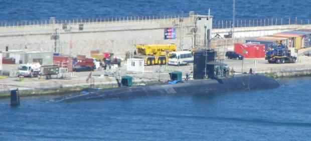 Cádiz.- Ecologistas exige al Gobierno si el submarino nuclear 'USS Olympia' está siendo reparado en Gibraltar