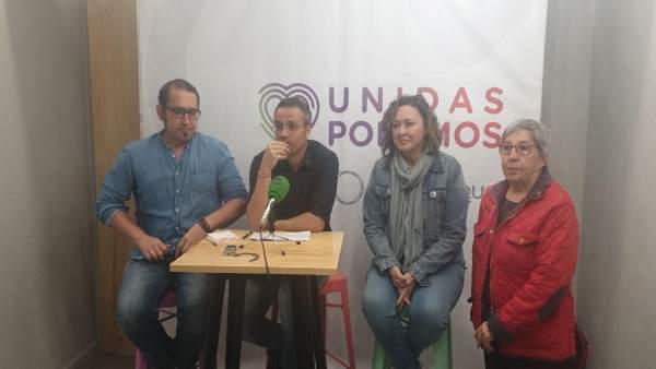 26M.- Unidas Remunicipalizará El 010, Logroño Deporte Y La Ayuda A Domicilio Y Creará Una Red Pública De Guarderías
