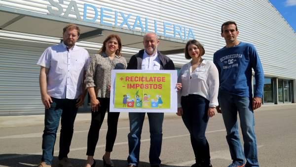 26M.- MÉS Per Marratxí Propone Un Programa De Reciclaje Con Una Rebaja De La Tasa De Recogida De Basuras