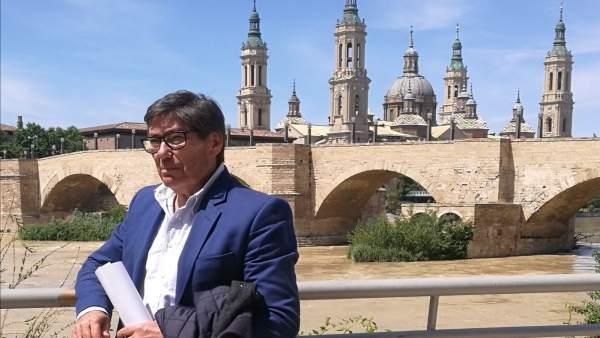 26M.- Aliaga Advierte A PP Y Cs Que El PAR 'Estará De Parapeto Para Evitar El Trasvase Del Ebro'