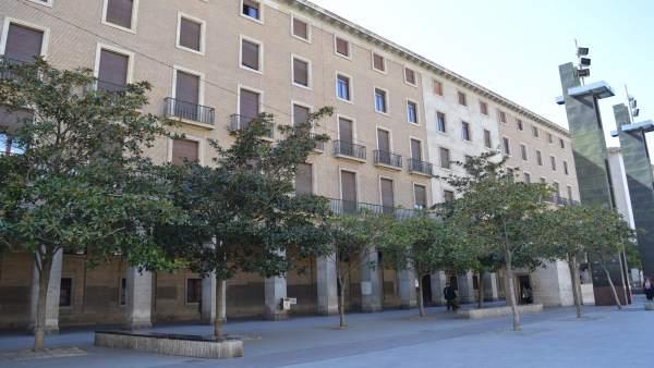 Zaragoza.- Elena Allué (PAR) apuesta por un 'Distrito Erasmus' en los antiguos juzgados de la plaza del Pilar