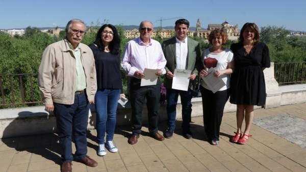 Córdoba.- 26M.- García (IU) destaca la 'intensa' campaña que lleva a cabo en todos los distritos y barrios de la ciudad
