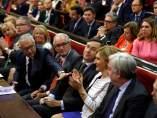 Los senadores del PP durante la elección de la mesa del Senado.