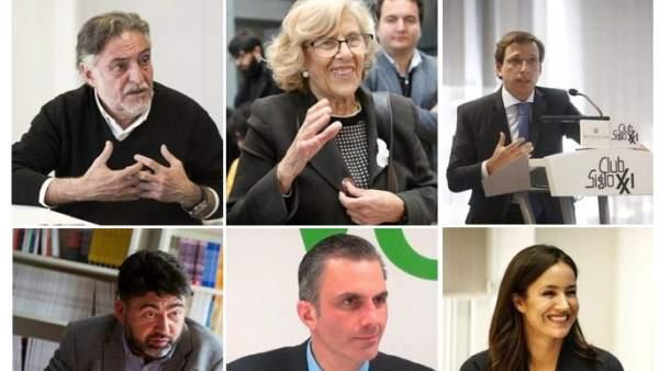 El debate a seis por la alcaldía de Madrid se emite este miércoles en Telemadrid