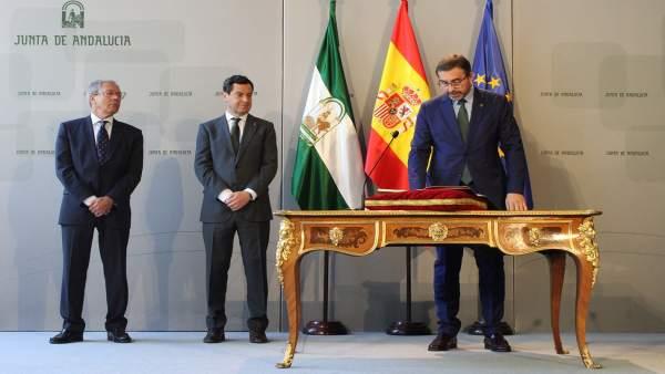 Jaén.- Juan Gómez considera la UJA como 'la mayor fuente de oportunidades' para la sociedad