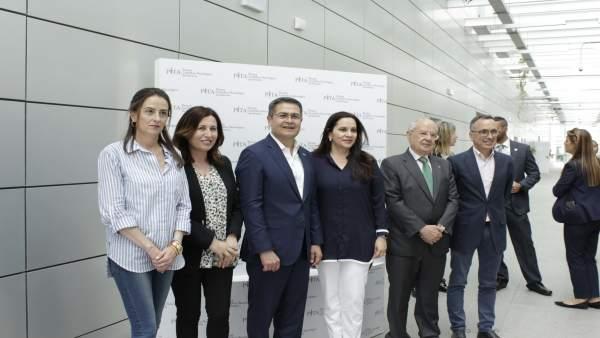 Almería.-El presidente de Honduras visita el PITA para conocer la innovación en la agricultura
