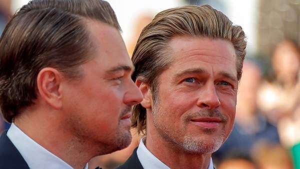 ¿Brad Pitt o Leonardo Di Caprio? El duelo de guapos de la alfombra roja de Cannes