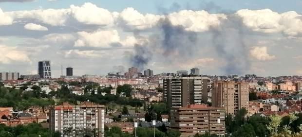 Incendio en San Blas